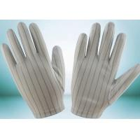 Wholesale Clean Room ESD Disposable Gloves , Static Proof Gloves High Durability from china suppliers