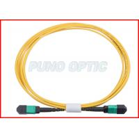 Wholesale 24 X Lanes LC Fiber Optic MPO Trunk Cable OS2 Single Mode Low Insertion from china suppliers