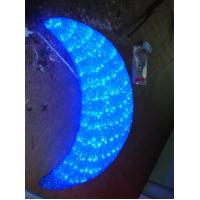 Wholesale led decorative christmas crescent moon light from china suppliers
