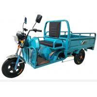 Wholesale Blue Three Wheel Cargo Motorcycle / Chinese Cargo Trike 800W Power 60V from china suppliers