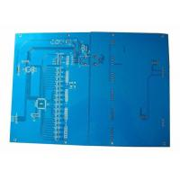 1.6mm Blue Solder Mask Double layer Custom PCB Boards for Access Control System