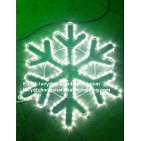 Wholesale led rope light snowflake from china suppliers