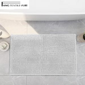 Wholesale Polyester Microfiber Shaggy TP Rubber chenille noodle bath rug from china suppliers