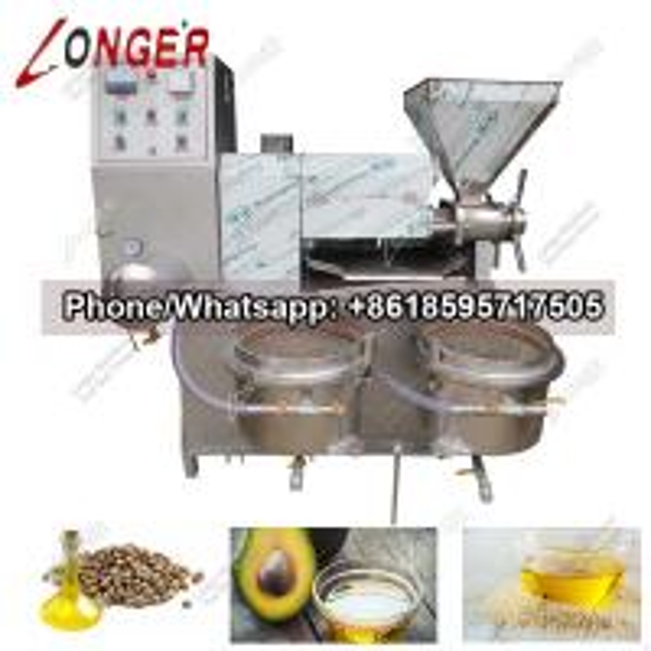 Automatic Peanut Oil Press Machine