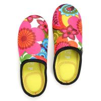 Quality Anti-skid neoprene lightweight relaxed travelling slippers shoes cover for woman for sale