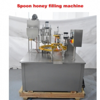 Wholesale PLC Control AC 380V Automatic Honey Spoon Filling Machine from china suppliers