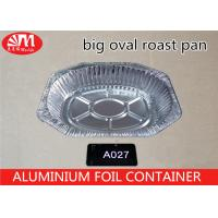 Wholesale 6900ml Volume Aluminum Turkey Roasting Pan , Aluminum Foil Pie Pans For Baking from china suppliers