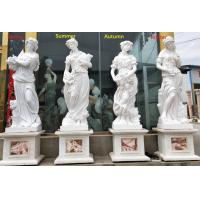 Wholesale Outdoor garden marble stone statues four season marble sculpture stone carvings,China stone carving Sculpture supplier from china suppliers