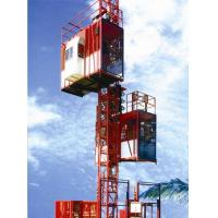 Wholesale Customized Color Construction Material Hoists , Construction Elevator With 36m / Min To 96m / Min Speed from china suppliers