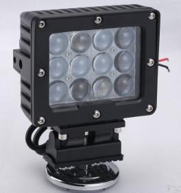 Quality 60W Square Vehicle LED High Power Driving Lights , 6500K 4800 Lumen 12 Volt Led for sale