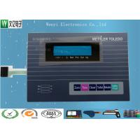 Wholesale PET Gloss Flat Membrane Switch / Membrane Control Panel Nicomatic Female Connector from china suppliers