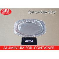 Wholesale Recyclable Disposable Aluminum Foil Pans 990ml Volume 90 Micron Thickness from china suppliers