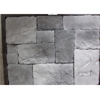 Wholesale Durable Faux Stone Wall Tiles , Faux Stone Veneer Exterior / Interior Wall Decoration from china suppliers