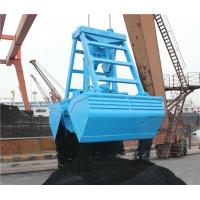 Wholesale 24T 8 - 12CBM Wireless Remote Control Sand Grab / Dual Scoop Ship Grab Bucket from china suppliers