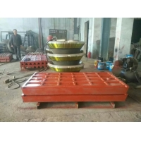 Wholesale Fixed And Movable Casting Jaw Crusher Plate High Manganese Crusher Spare Parts from china suppliers