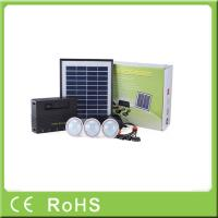 China Wholesale 4W 11V lithium battery with LED bulbs lighting system home solar kit wholesale