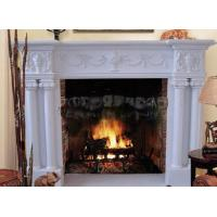 Wholesale marble mantel  fireplace for home from china suppliers