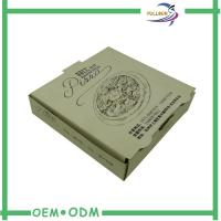 Wholesale Logo Printed Kraft Paper Box / Corrugated Food Packaging Easy Fold from china suppliers
