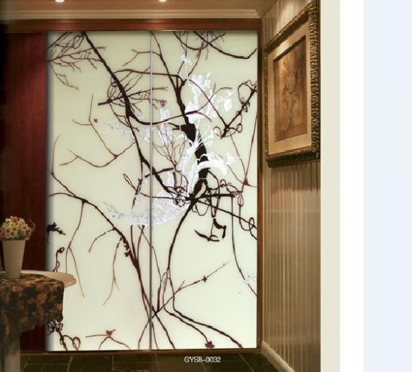 Flat Decorative Custom Interior Sliding Glass Doors For