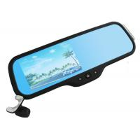 Wholesale 5 Inch LCD GPS Digital Video Recorder , Rear View Mirror Portable Car Camcorder from china suppliers