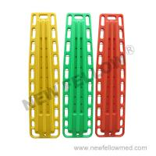 Quality Polyethylene Material Spine Board backboard Stretcher / ambulance stretcher for sale