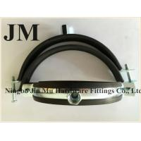 Wholesale Customized Thickness Standard Rubber Pipe Clamp OEM / Neutral Packing from china suppliers