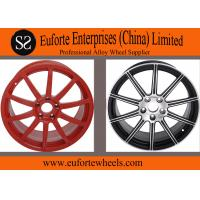 Susha wheels 1-piece Red Forged car Wheel rims 18 inch to 20 inch Replica Wheels