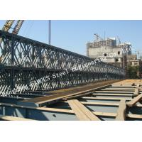 Wholesale Modern Style Prefabricated Modular Steel Bailey Bridge Galvanized Surface Treatment from china suppliers