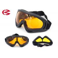 Mirror Coated Outdoor Sports Sunglasses , Uv400 Protection Night Riding Glasses