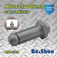 Wholesale M20 Carbon steel Zinc plated Hot dip Galanised Expansion Steel Construction Fastener Fix Bolt from china suppliers