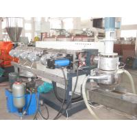 China PP PE Waste Plastic Recycling Pelletizing Machine 100-800kg/hr Low Power Consumption on sale