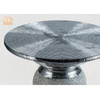 Wholesale Lightweight Glass Fiberglass Furniture Pedestal Plant Stand Round Corner Table from china suppliers