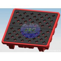Wholesale Professional Plastic Rotational Moulding For LLDPE Drum Pallets / Containment Pallets from china suppliers