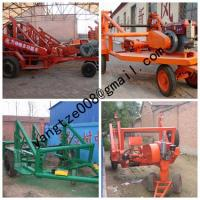 China cable drum table, new type Cable Conductor Drum Carrier,Drum Trailer on sale