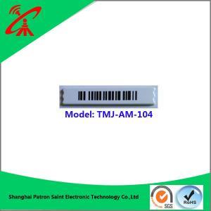 58khz supermaket anti-theft alarm barcode labels for liquids