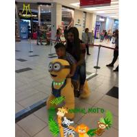 China Hansel happy ride toy animal toy machine ride hot in shopping mall on sale