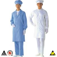 Quality 5mm Stripe Antistatic Smocks Clothing for Cleanroom Personal ESD Control Safety & Protection for sale