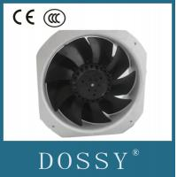 China stainless steel axial fan blades 225mm AC 220V axial fan with external rotor motor China on sale