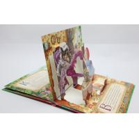 Wholesale Christmas Greeting Card Pop Up Children Book Printing Service OED With 3D from china suppliers