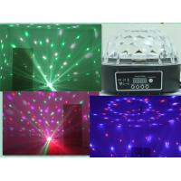 China Crystal Ball LED Effect Light , super bright 6*3W RGBWY Purple led Stage lights on sale