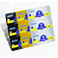 Quality Unique Square Plastic PVC Business Cards 3-in-1 0.3mm-1.0mm Thickness for sale