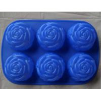 Wholesale silcone cake mould with flower shape from china suppliers