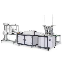 Wholesale 120-150 PCS / Min Disposable Mask Making Machine Customized Mask Size Stable from china suppliers