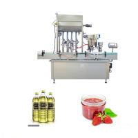 Buy cheap Pneumatic System Essential Oil Filling Machine For Soy Bean / Palm / Oliver Oil from wholesalers