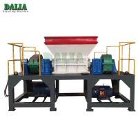 Wholesale Easy Operation Double Shaft Shredder Machine For Waste Mattress / Rubber Foam from china suppliers