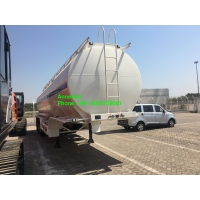 Wholesale 60T 3 Axles Fuel Oil Tank Trailer With 12.00R20 Tire from china suppliers