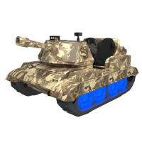 Wholesale Double Person War Thunder Tanks / Virtual Reality Arcade Game Machines from china suppliers