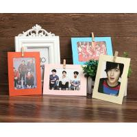6inch different colorful paper photo frame wholesale customized design