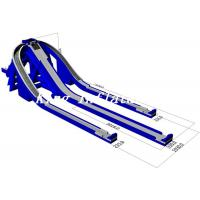 Buy cheap 15m High Outdoor Giant Inflatable Water Slide For Sale / Trippo Slide from wholesalers