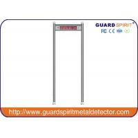 Wholesale 5.7inch LCD Screen Multi Zone Door Frame Metal Detector Low Consume from china suppliers